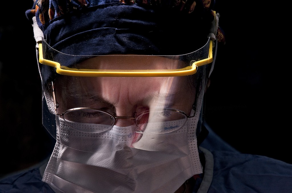Surgeon's portrait. Photograph by Nate Pallace.