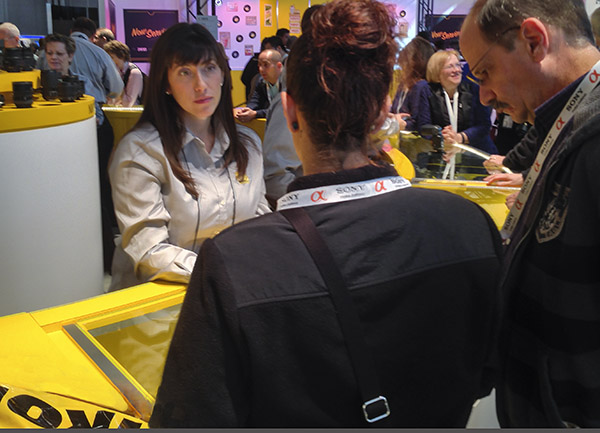 Sara Moosbrugger Wood works for Nikon Professional Services